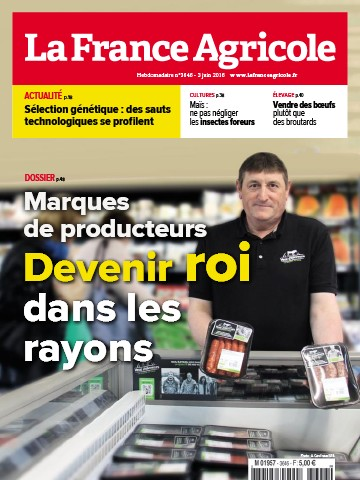 Couverture du magazine La France Agricole n°3646