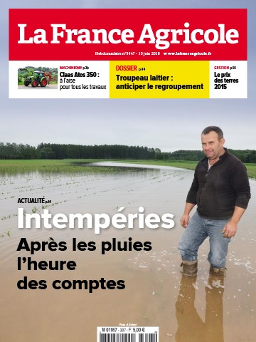 Couverture du magazine La France Agricole n°3647