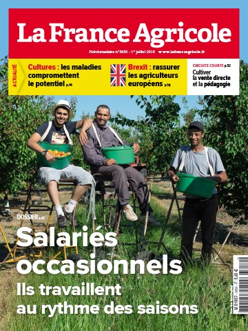 Couverture du magazine La France Agricole n°3650