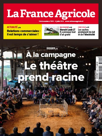 Couverture du magazine La France Agricole n°3651