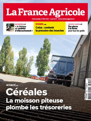 Couverture du magazine La France Agricole n°3654-3655