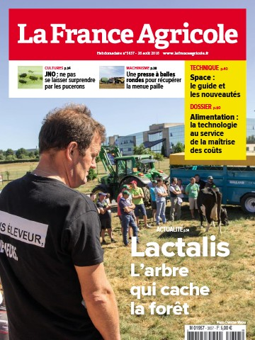 Couverture du magazine La France Agricole n°3657
