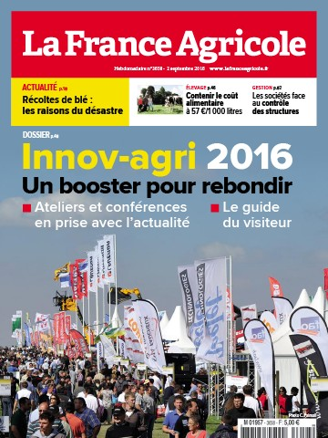 Couverture du magazine La France Agricole n°3658