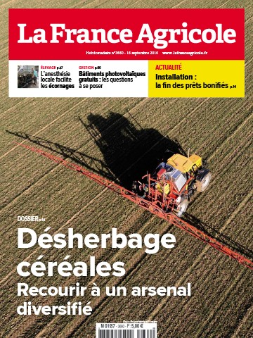 Couverture du magazine La France Agricole n°3660
