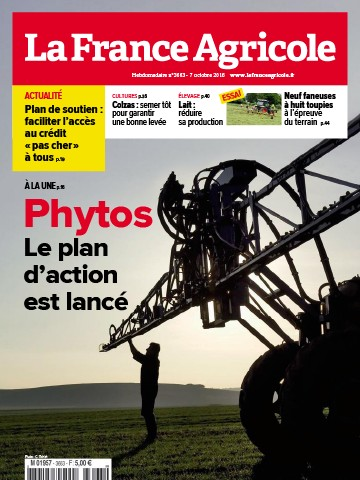 Couverture du magazine La France Agricole n°3663