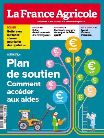 Couverture du magazine La France Agricole n°3664