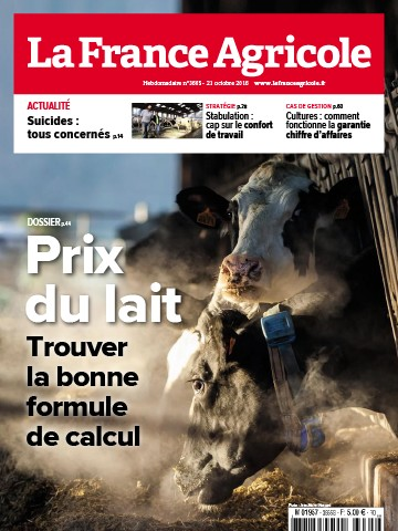 Couverture du magazine La France Agricole n°3665