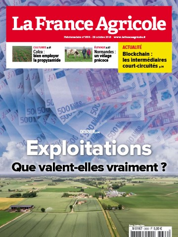Couverture du magazine La France Agricole n°3666