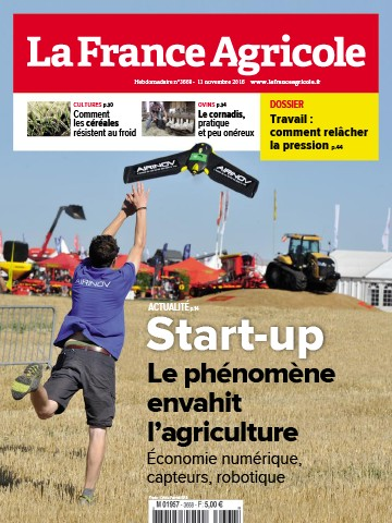 Couverture du magazine La France Agricole n°3668