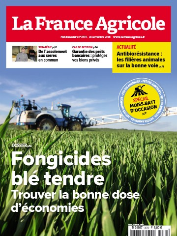 Couverture du magazine La France Agricole n°3670