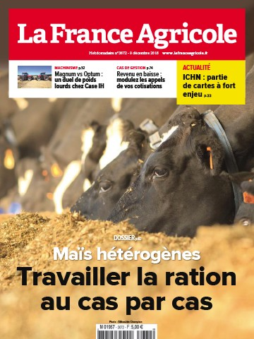 Couverture du magazine La France Agricole n°3672