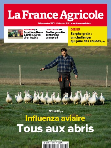 Couverture du magazine La France Agricole n°3673