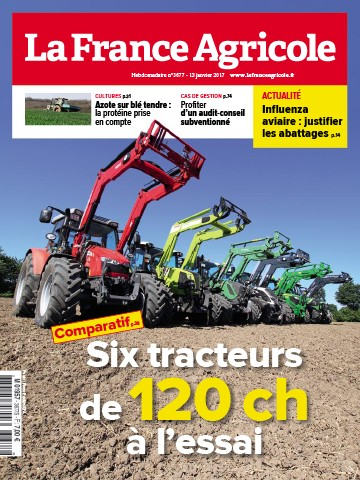 Couverture du magazine La France Agricole n°3677