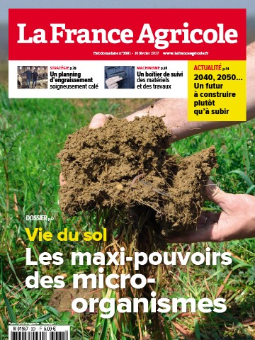 Couverture du magazine La France Agricole n°3681