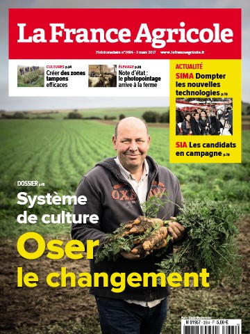 Couverture du magazine La France Agricole n°3684