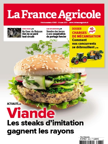 Couverture du magazine La France Agricole n°3685