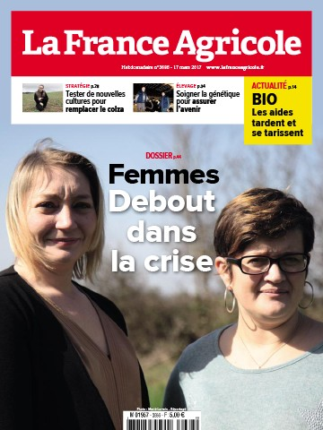 Couverture du magazine La France Agricole n°3686