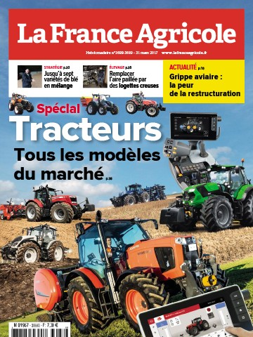 Couverture du magazine La France Agricole n°3688-3689