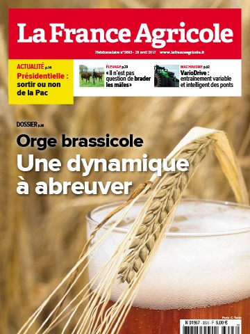 Couverture du magazine La France Agricole n°3693