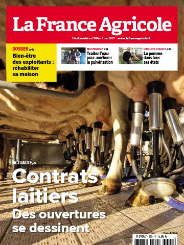 Couverture du magazine La France Agricole n°3694