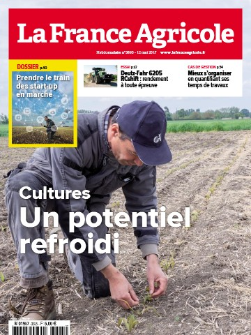 Couverture du magazine La France Agricole n°3695