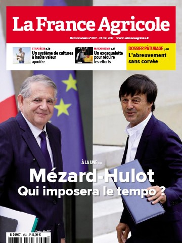 Couverture du magazine La France Agricole n°3697