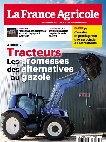 Couverture du magazine La France Agricole n°3698