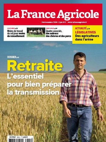 Couverture du magazine La France Agricole n°3699