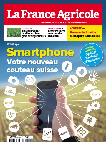 Couverture du magazine La France Agricole n°3700