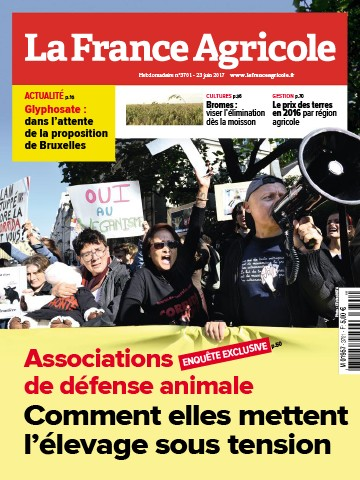 Couverture du magazine La France Agricole n°3701