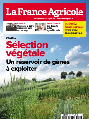 Couverture du magazine La France Agricole n°3703