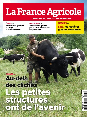 Couverture du magazine La France Agricole n°3704