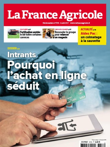 Couverture du magazine La France Agricole n°3706