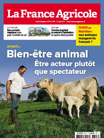 Couverture du magazine La France Agricole n°3707-3708
