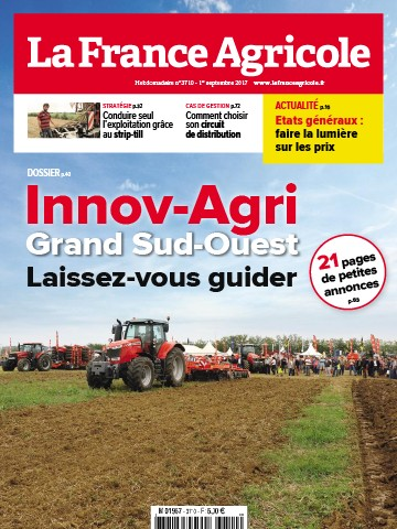 Couverture du magazine La France Agricole n°3710