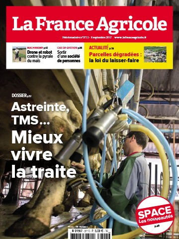 Couverture du magazine La France Agricole n°3711