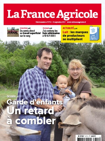 Couverture du magazine La France Agricole n°3712
