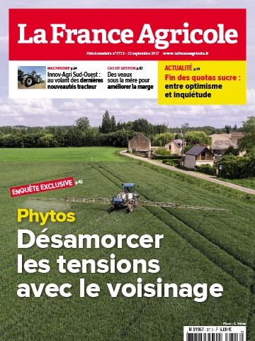 Couverture du magazine La France Agricole n°3713