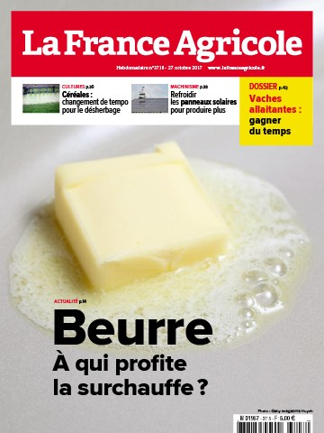 Couverture du magazine La France Agricole n°3718