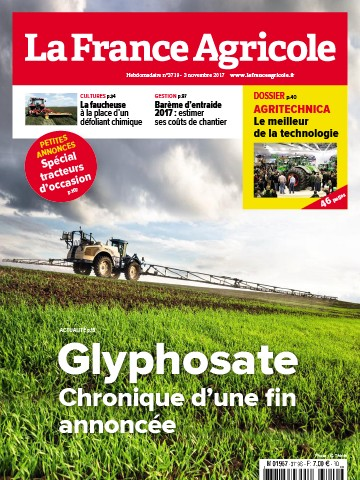 Couverture du magazine La France Agricole n°3719