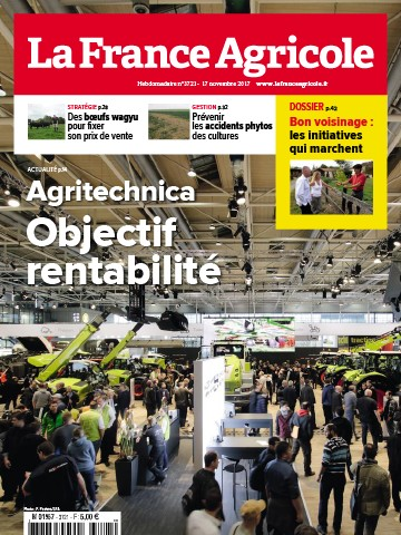 Couverture du magazine La France Agricole n°3721