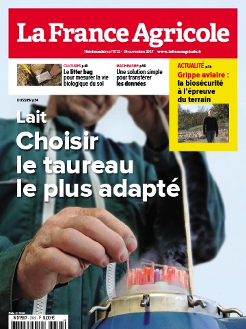 Couverture du magazine La France Agricole n°3722