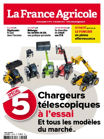 Couverture du magazine La France Agricole n°3724