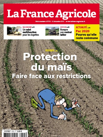 Couverture du magazine La France Agricole n°3725