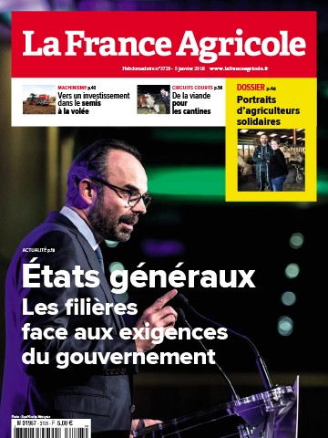 Couverture du magazine La France Agricole n°3728