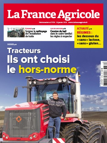 Couverture du magazine La France Agricole n°3730
