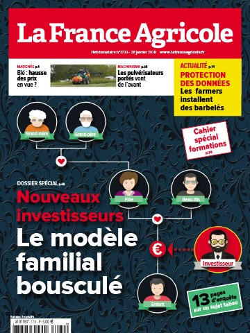 Couverture du magazine La France Agricole n°3731