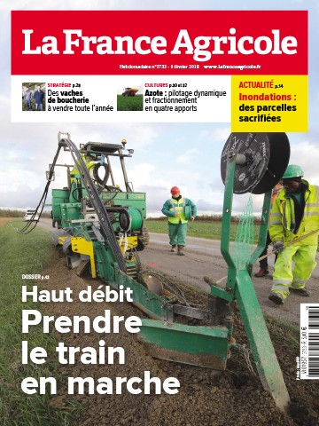 Couverture du magazine La France Agricole n°3733