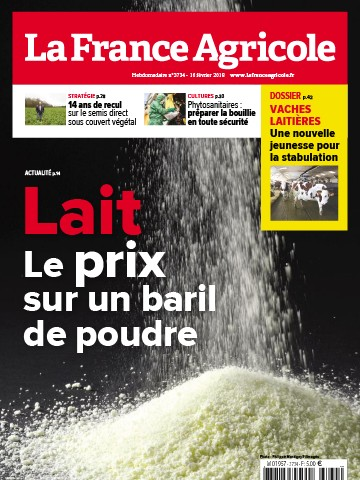 Couverture du magazine La France Agricole n°3734