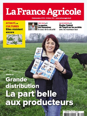 Couverture du magazine La France Agricole n°3735